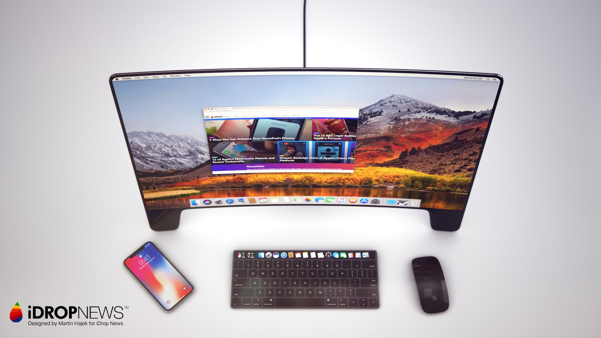 iDrop News 20th Anniversary Apple Studio Display Monitor Concept