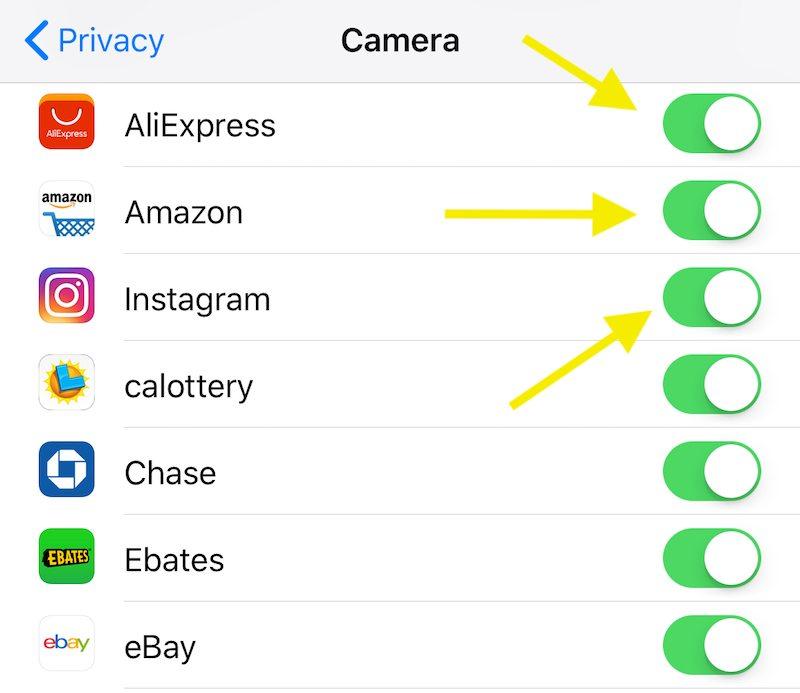 Ios 11 Camera Privacy Permissions