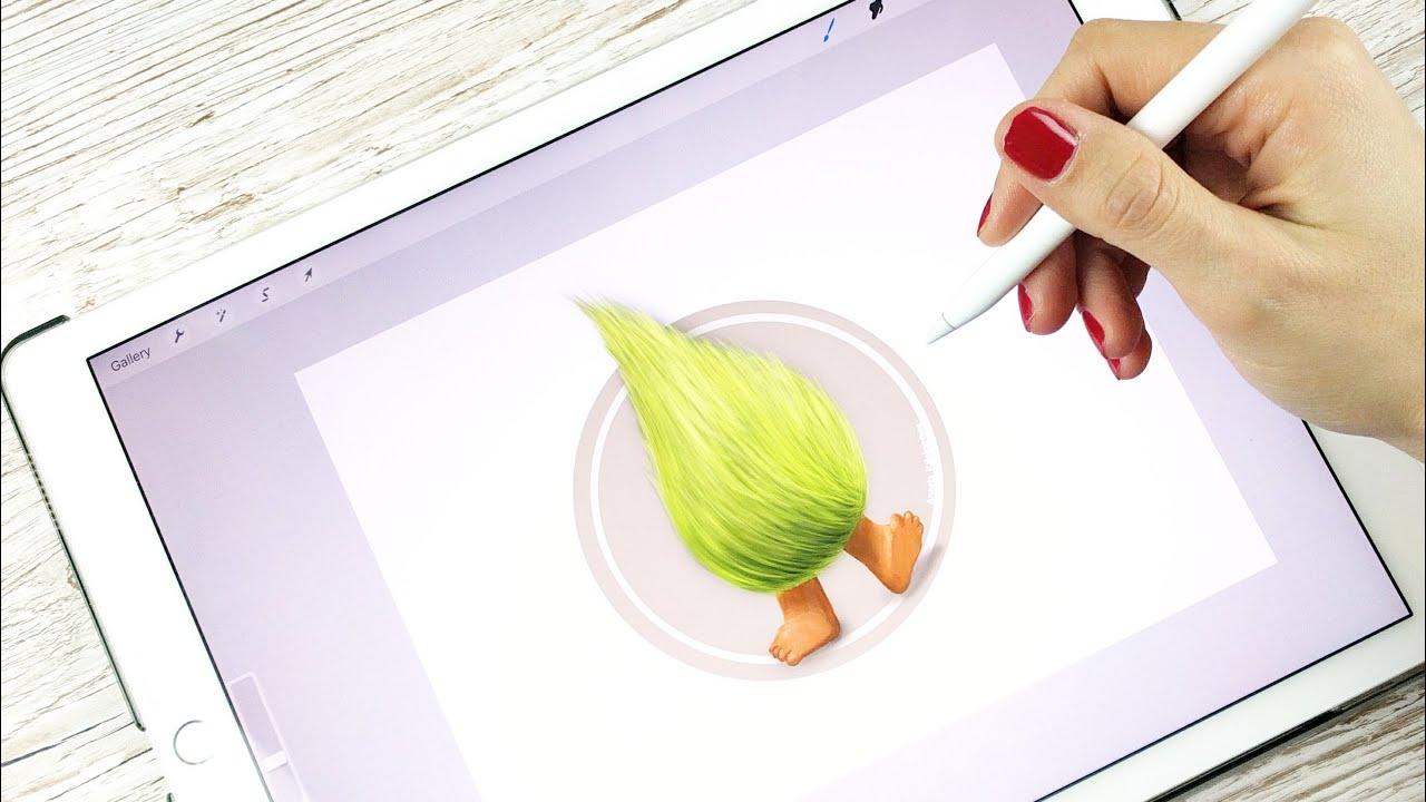 Ipad Pro Draw Event Trolls Fuzzbert