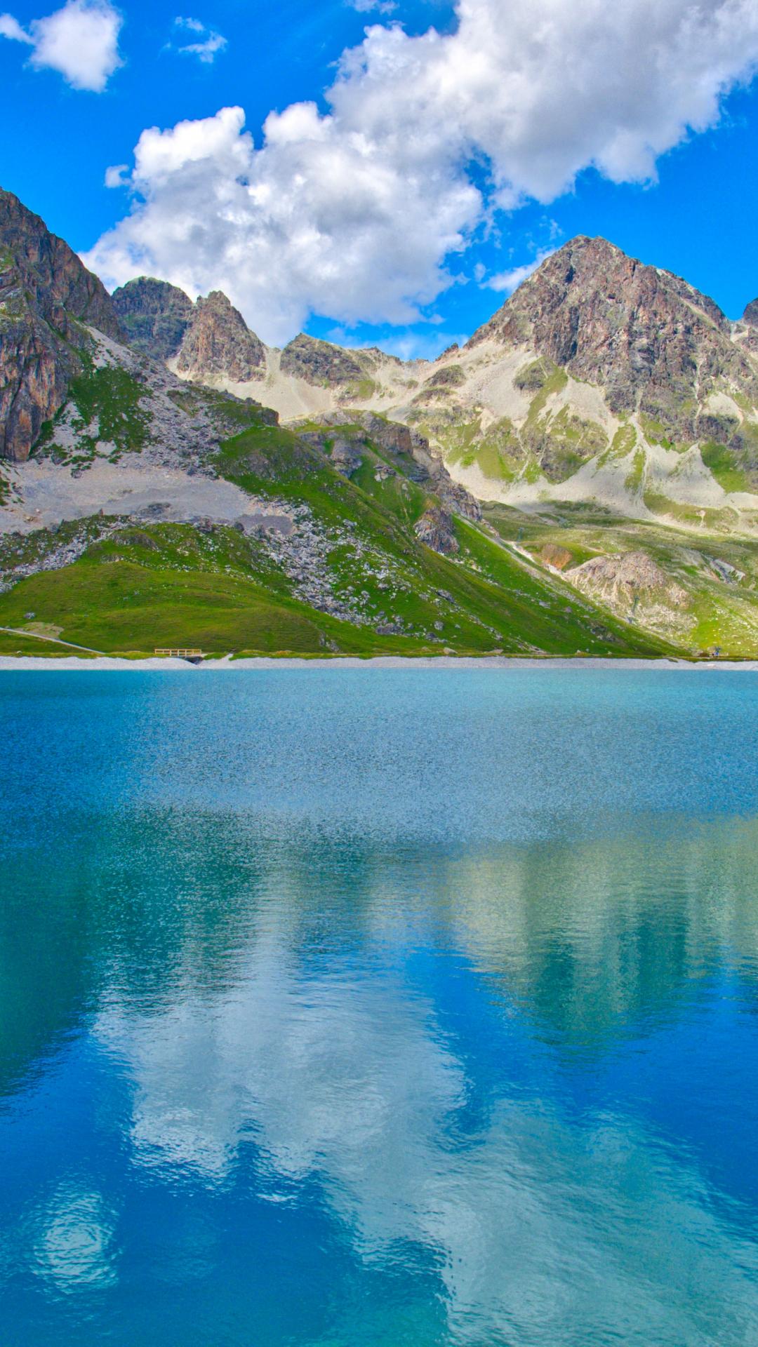 Mountain Lake iPhone Wallpaper