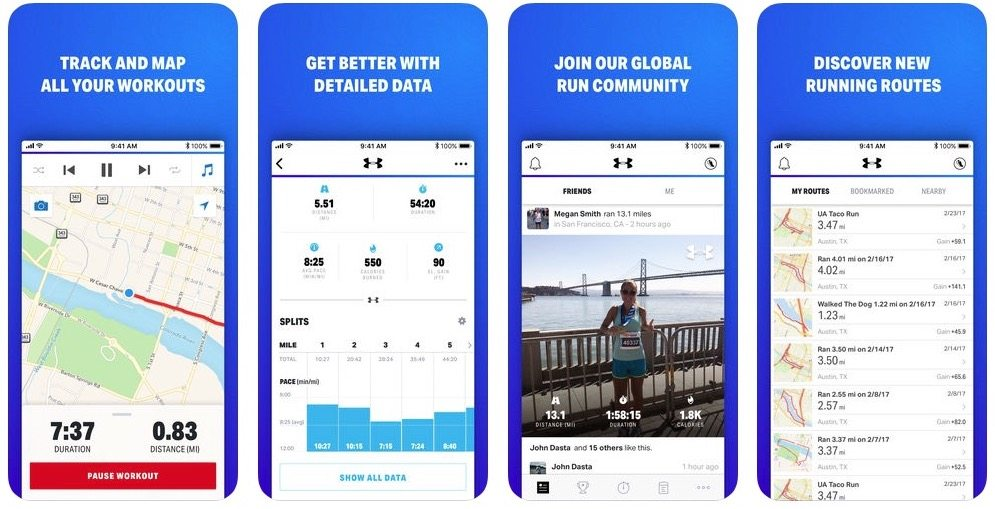 5 Apps to Help Sculpt and Tone Your Summer Now Map My Fitness Under Armour on map my trip, map my money, map my walk and blackberry, planner app my fitness, map my life, map my run, map my walk app,