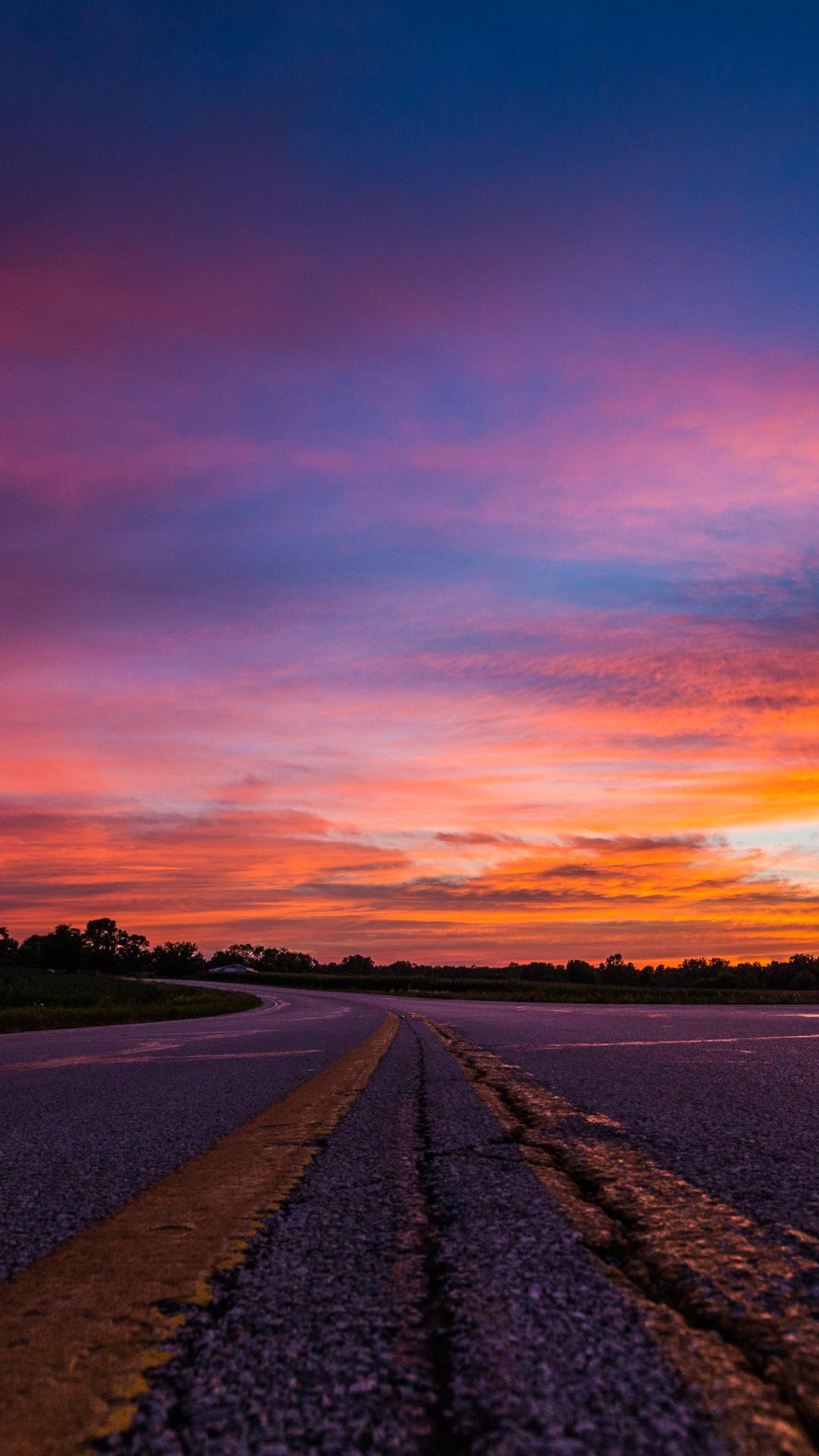 Cool Sunset iPhone Wallpaper