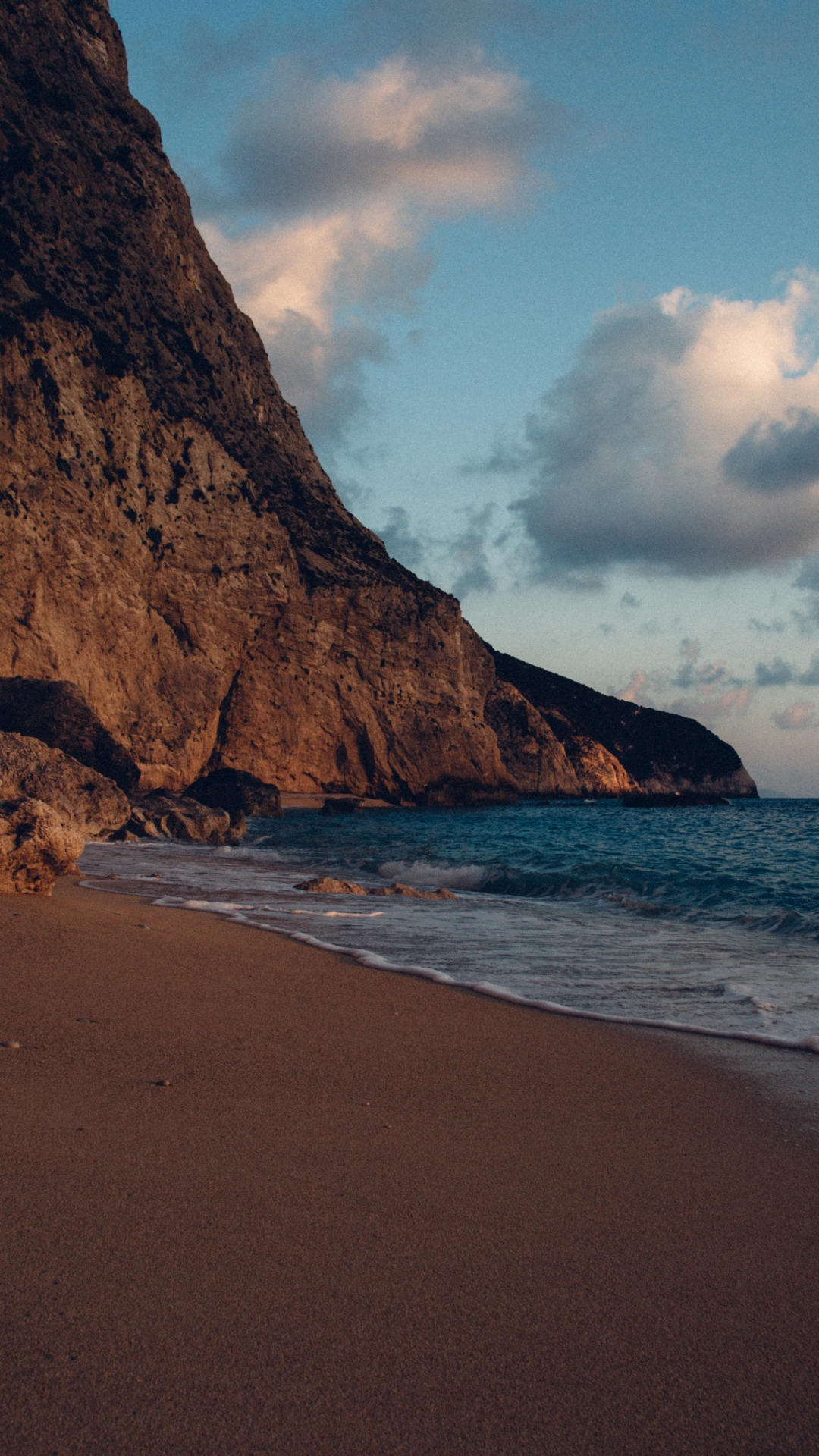 Lefkada Beach iPhone Wallpaper