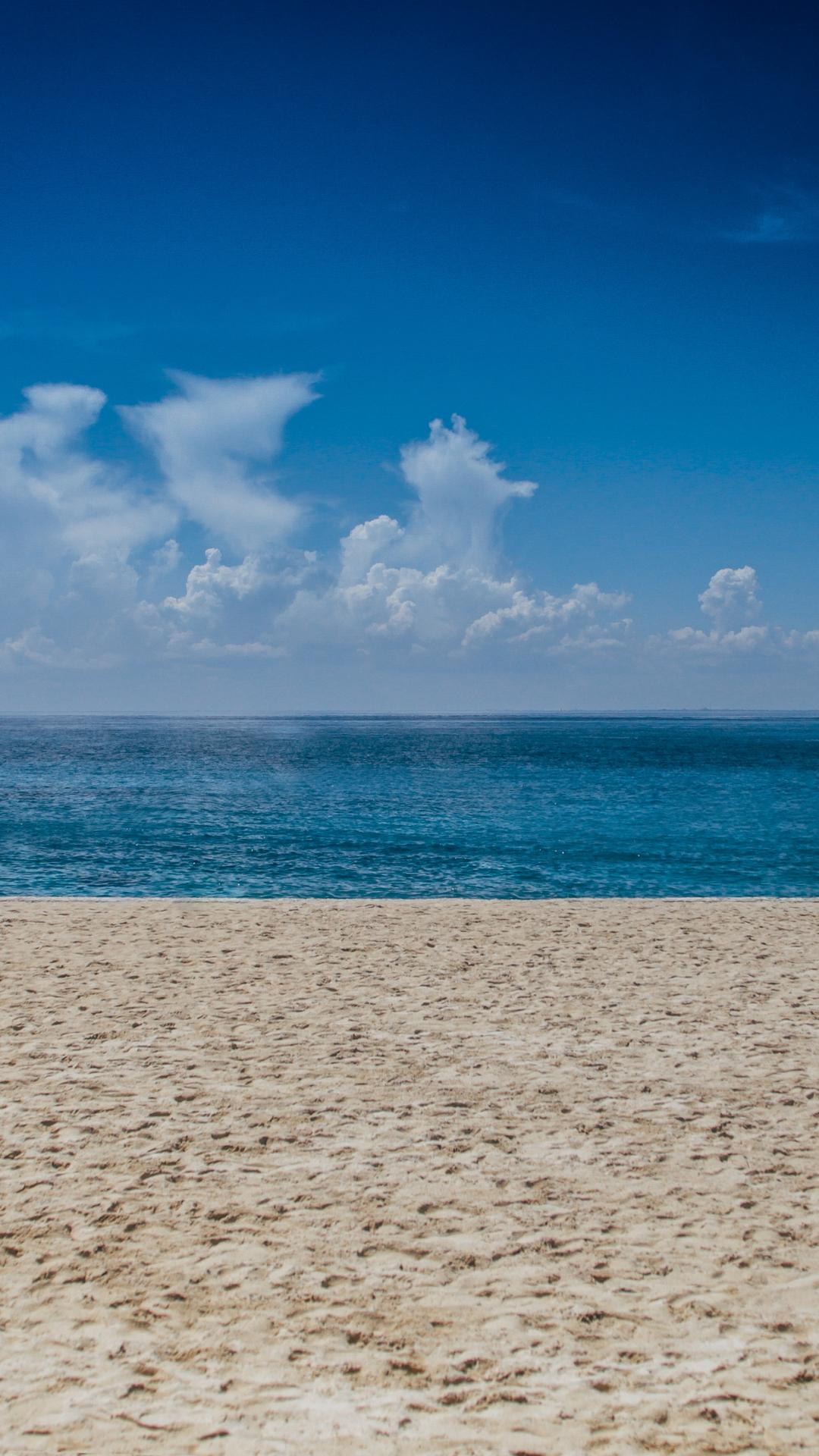 Ocean So Blue IPhone Wallpaper