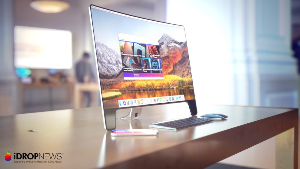 Idrop News 20th Anniversary Apple Studio Display Monitor Concept 221