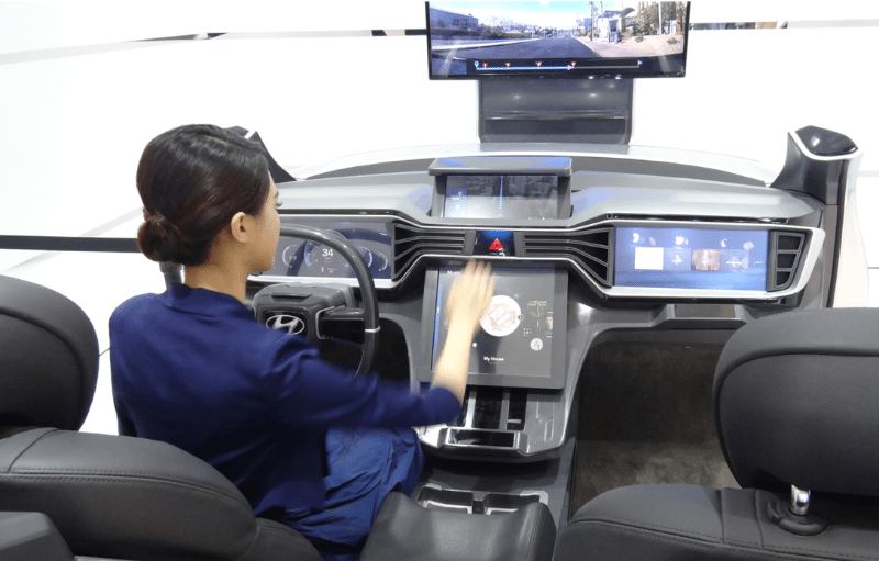 Self Driving Car Gesture Control