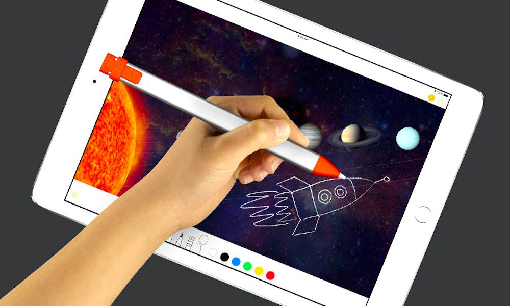Logitech Debuts $49 Digital Crayon for 6th Gen iPad