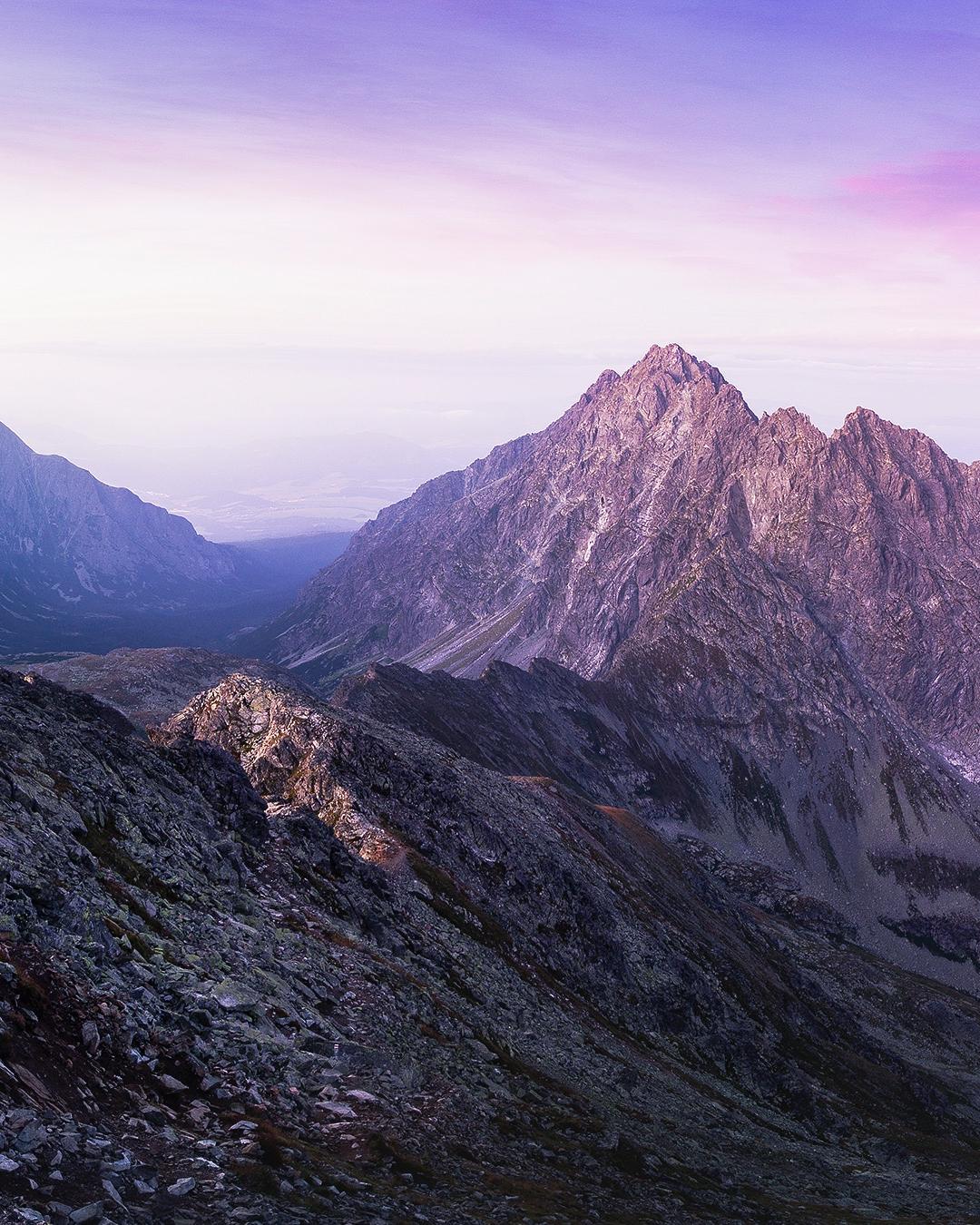 Mountain, Peak iPhone Wallpaper