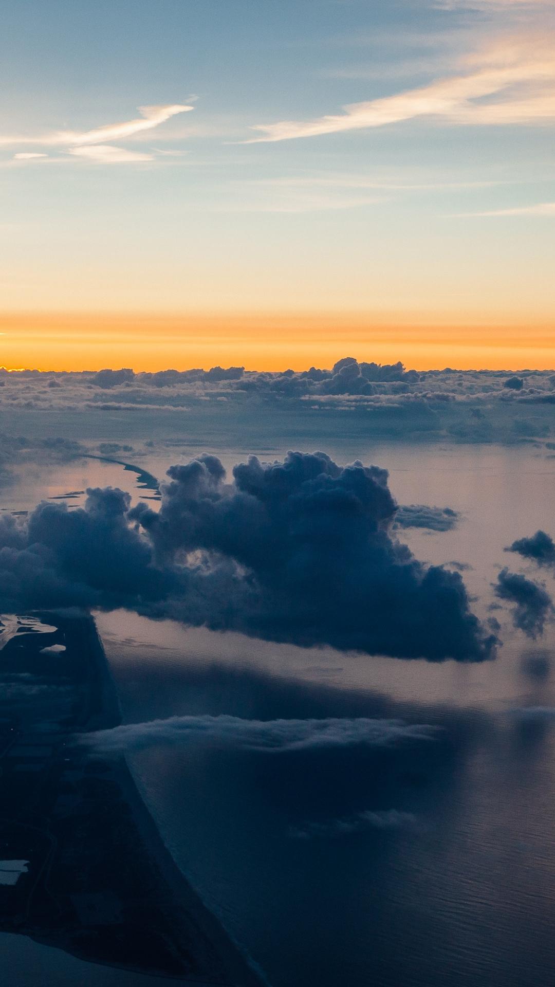 Clouds iPhone Wallpaper