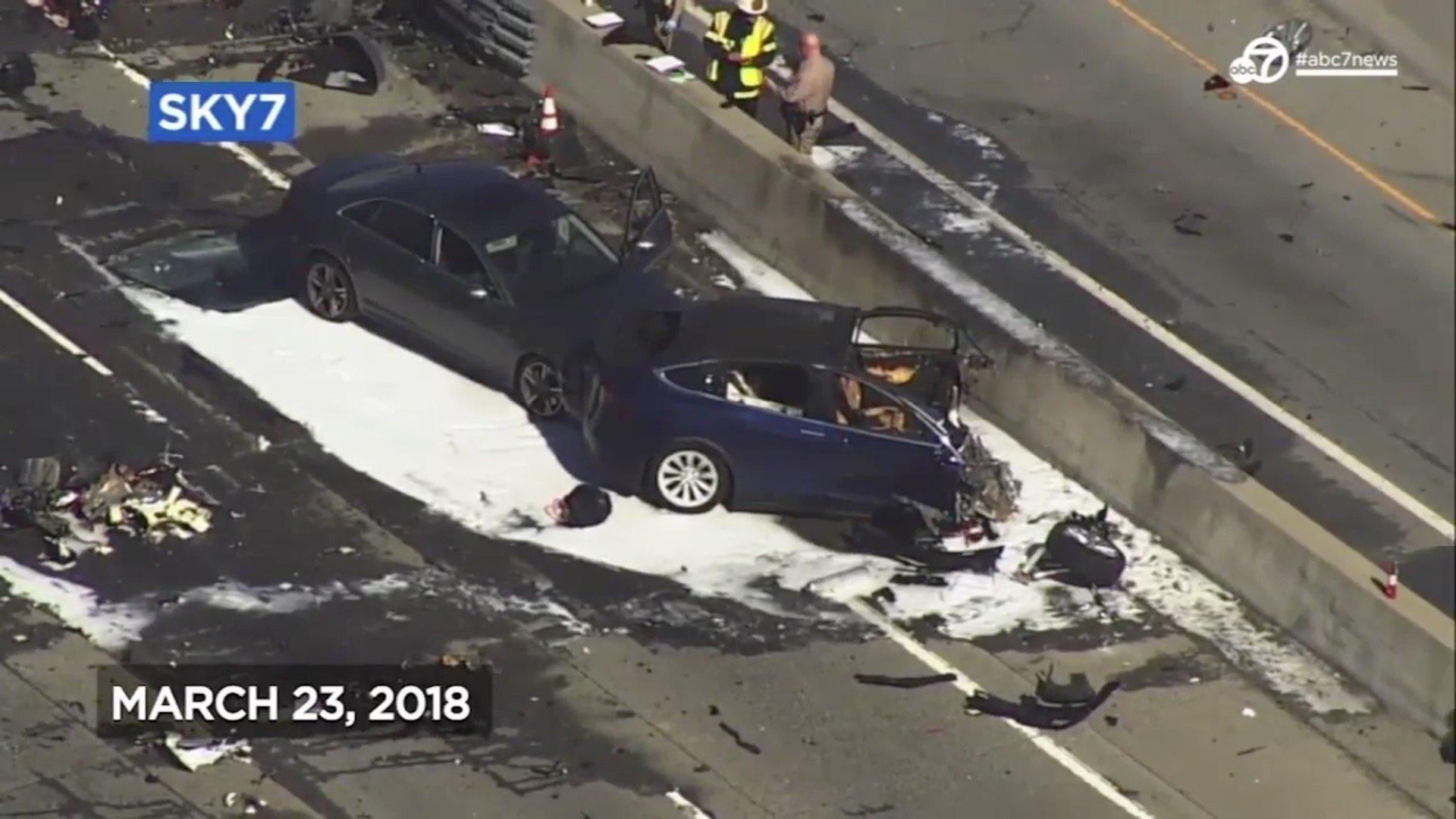 Tesla Crash Fatality Abc 7