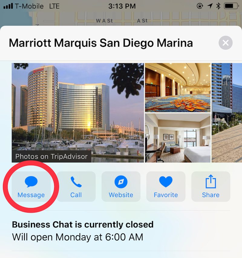 Business Chat Ios