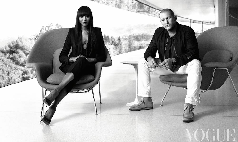Naomi Campbell Jony Ive Interview