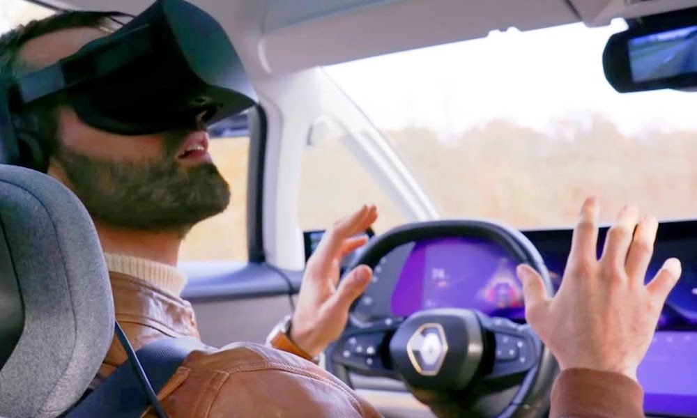 Ubisoft Renault Symbioz Vr Self Driving Car1