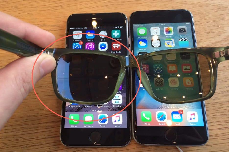Polarized Sunglasses Iphone Screen