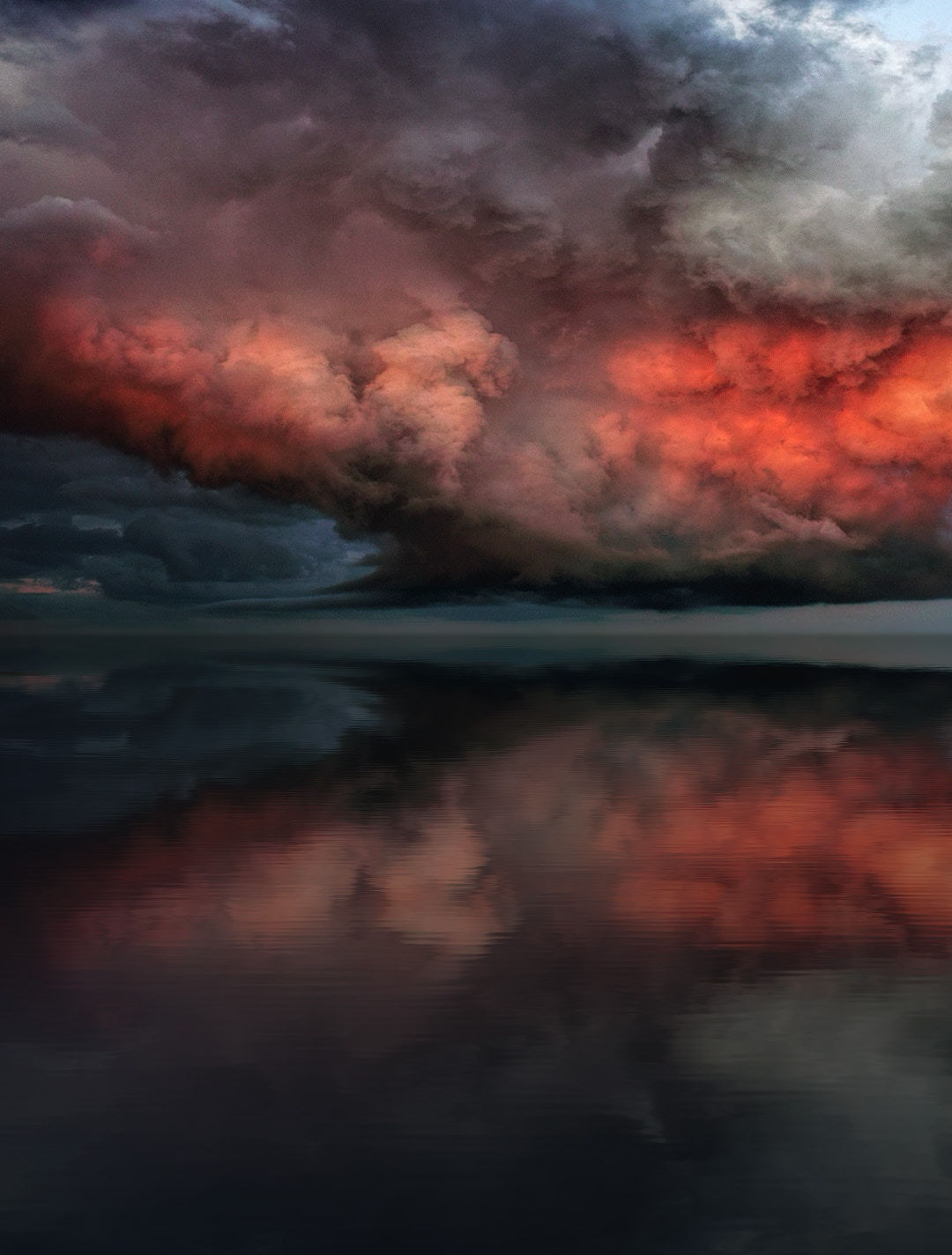 Storm iPhone Wallpaper