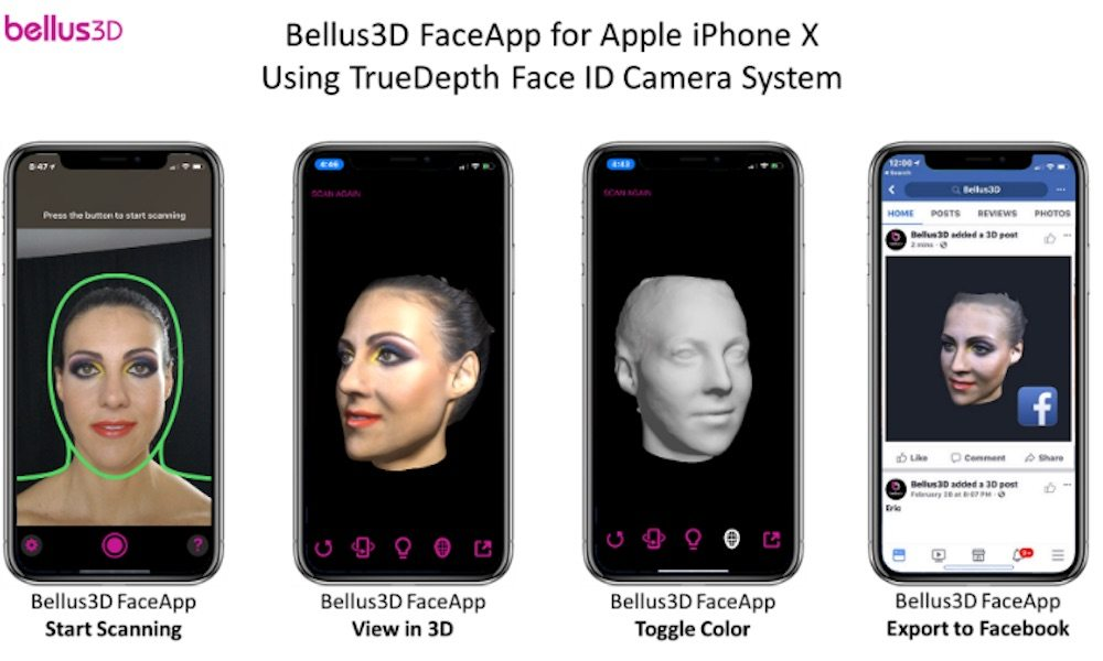 Bellus3d Iphone X