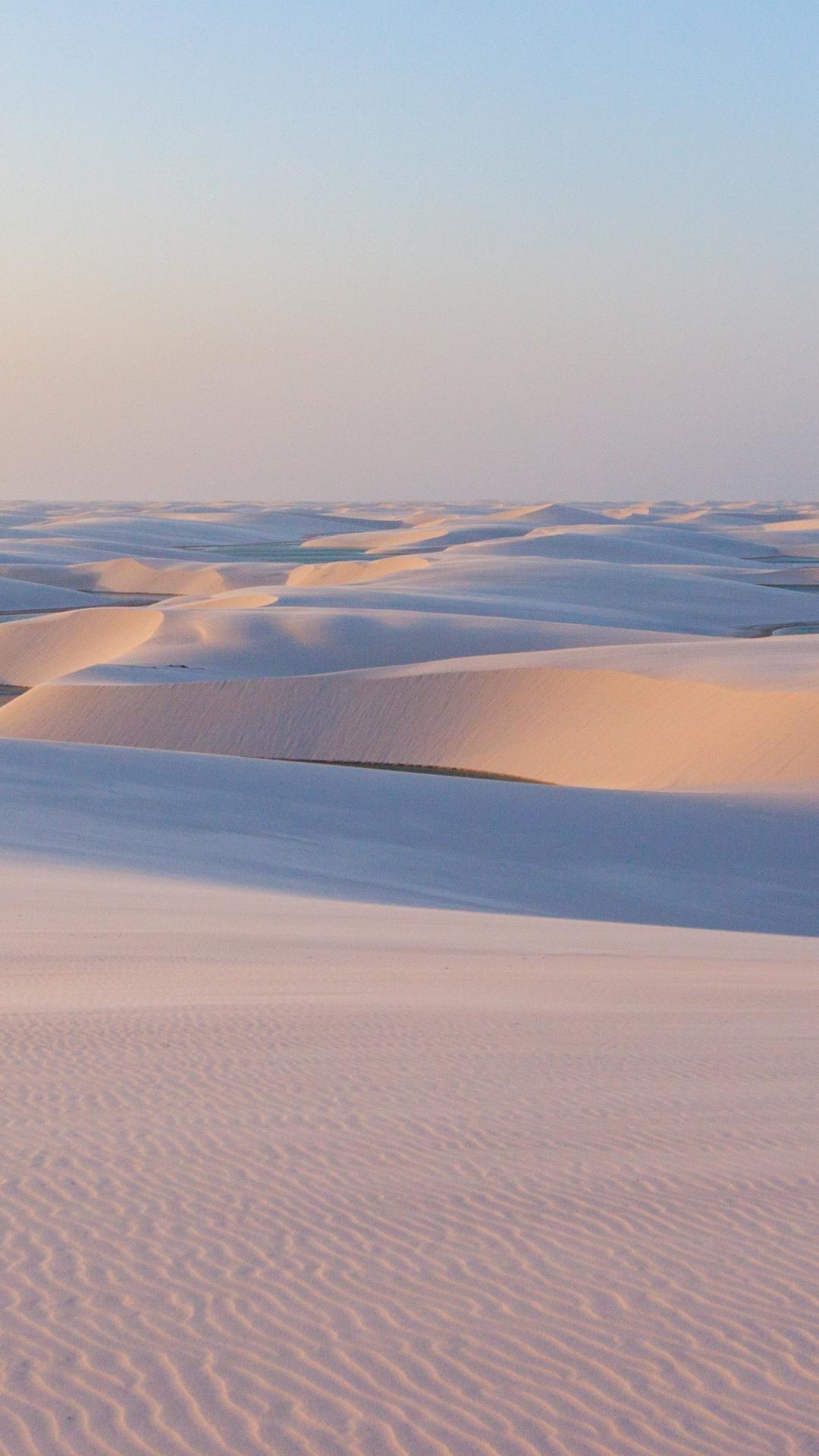 Sand And Desert iPhone Wallpaper