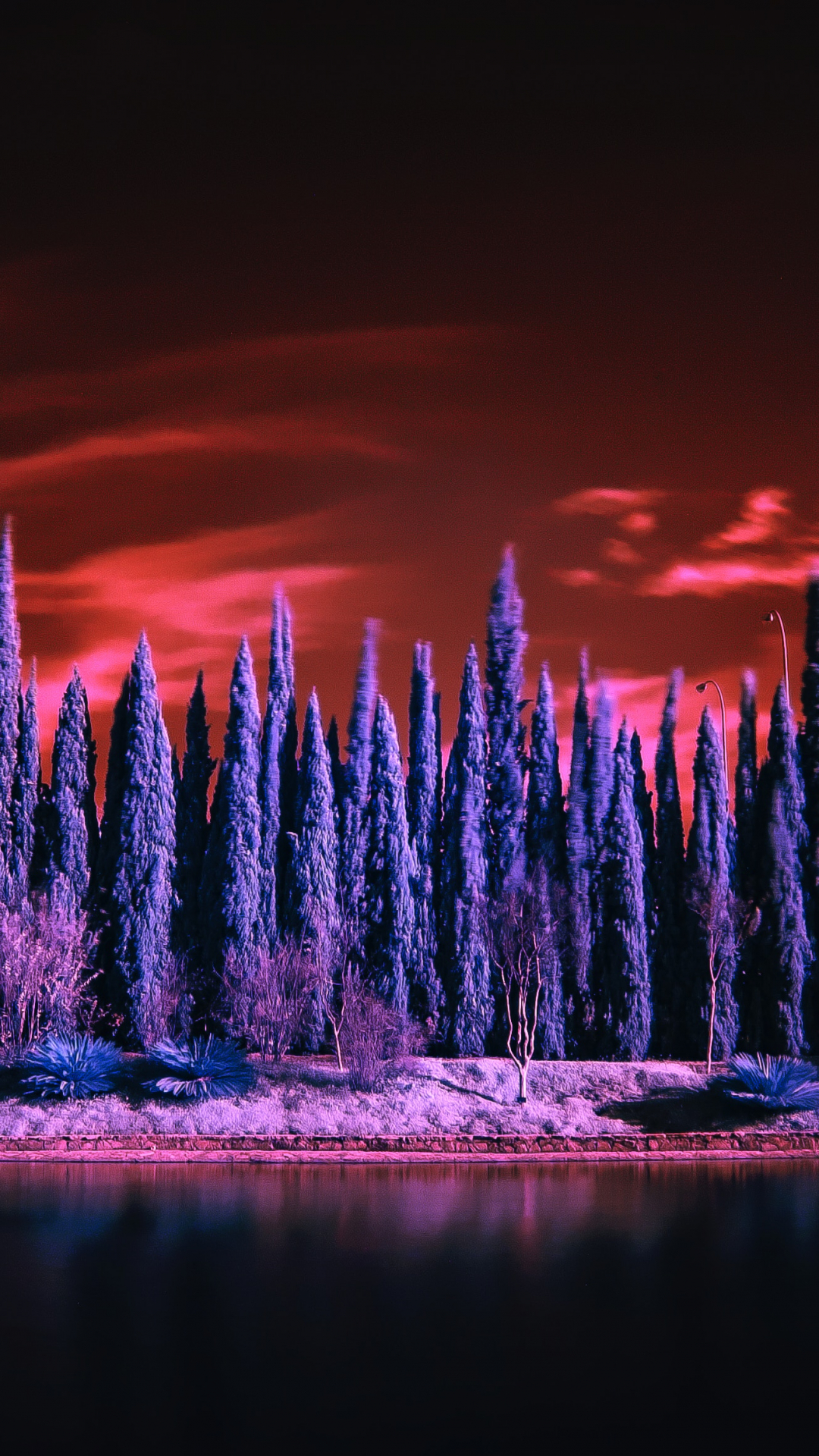 Infrared Serie iPhone Wallpaper