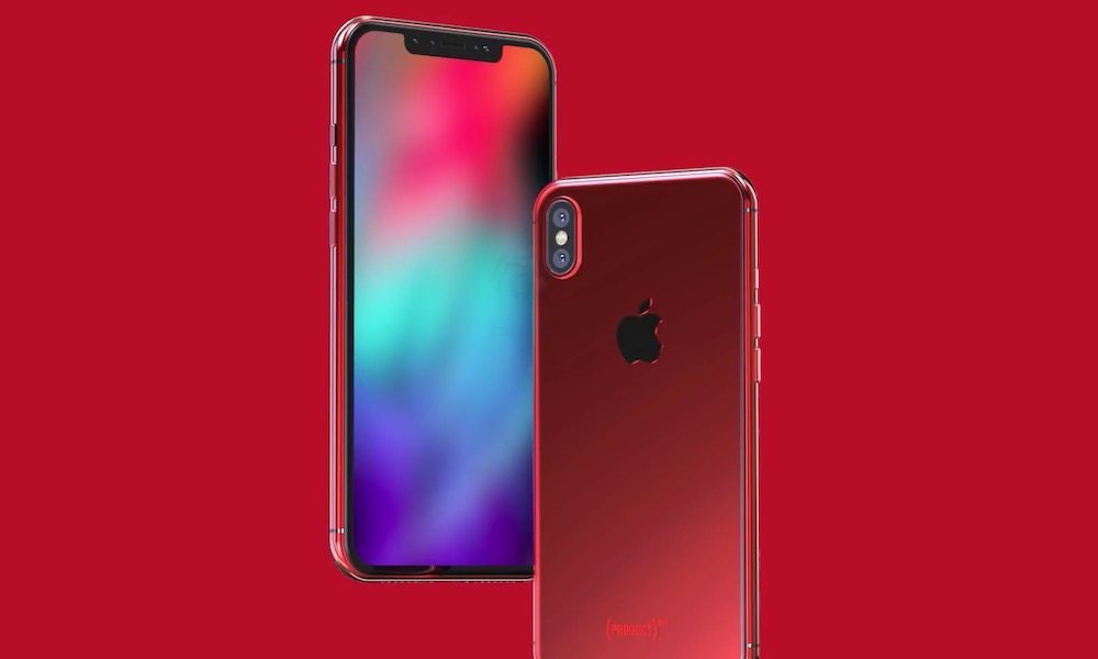 Red iPhone X Concept