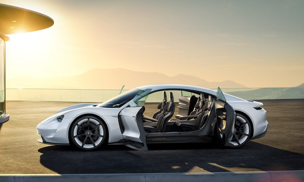 Porsche Mission E Supercharger