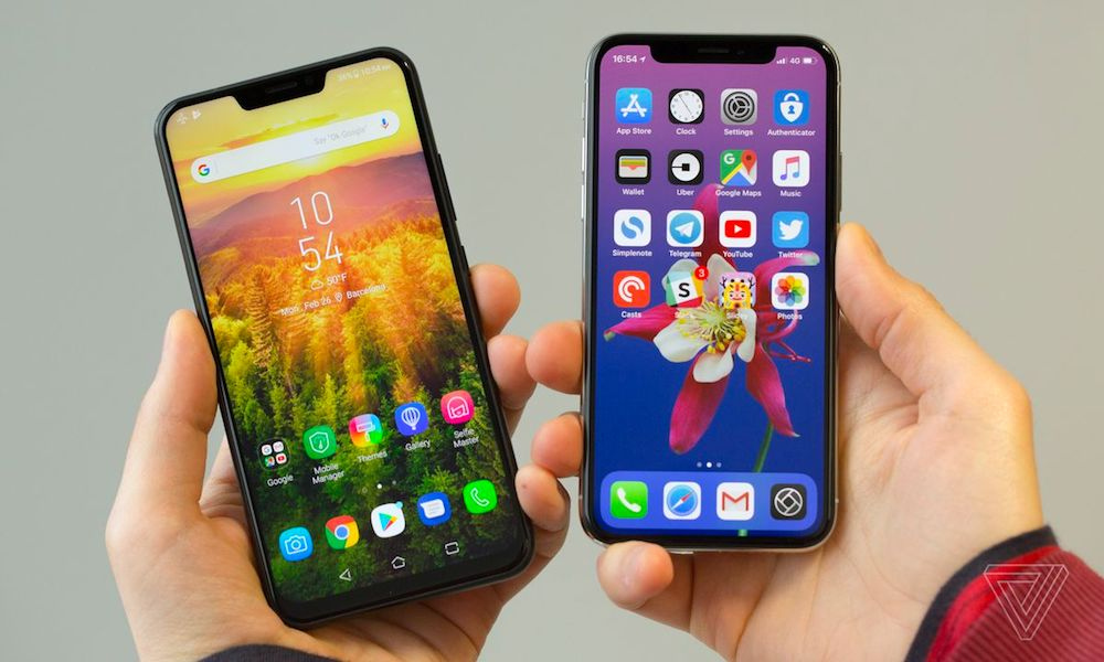 Android Iphone X The Verge