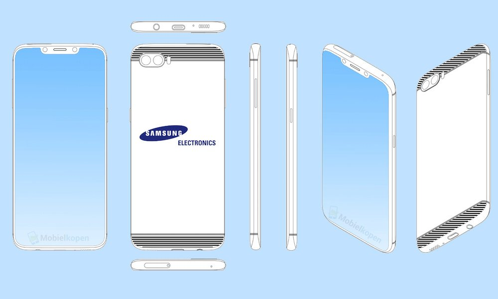 Samsung Galaxy Notch Patent Iphone X