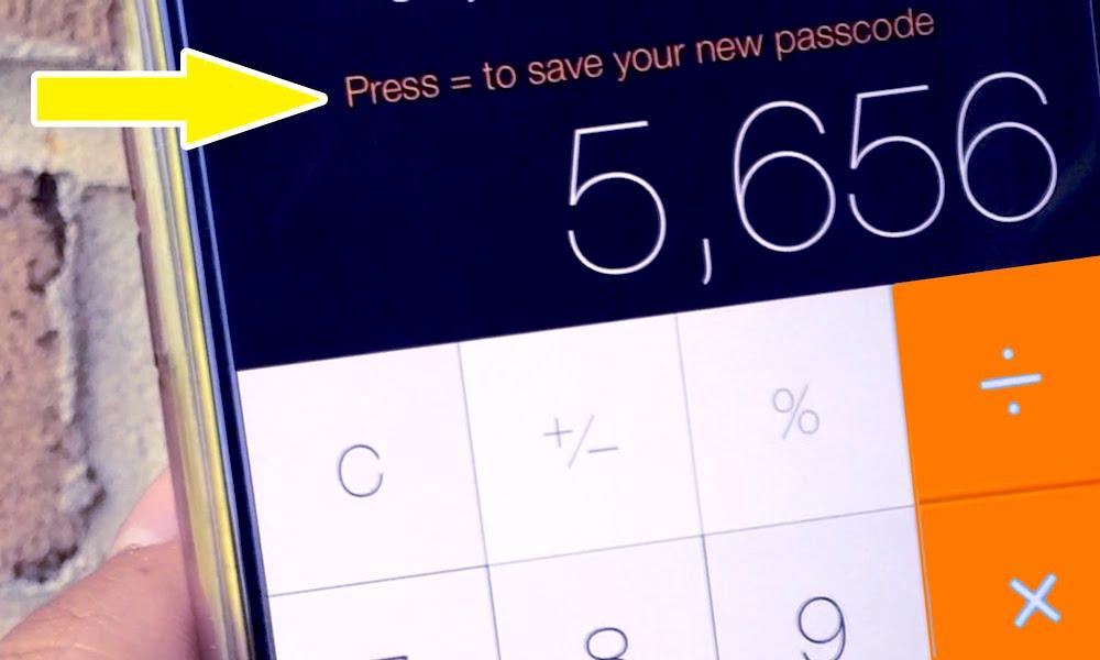 Calculator Hidden Photos App