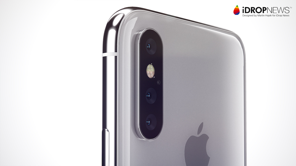 These New Renders Show What A Triple Lens Iphone Might