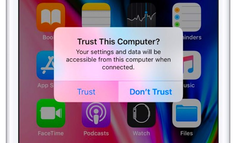 Experts Warn 'Trust This Computer' Is a Massive iPhone Security Risk