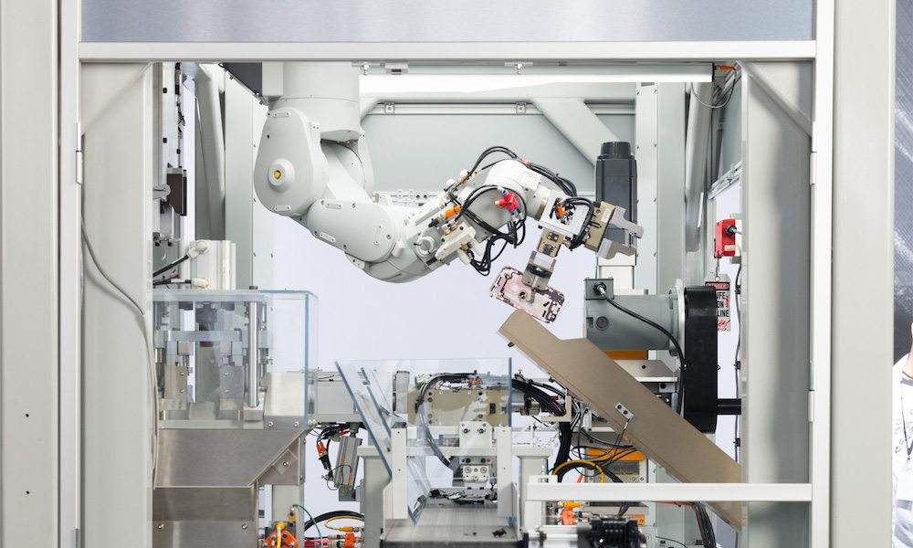 Apple introduces new iPhone disassembly robot Daisy