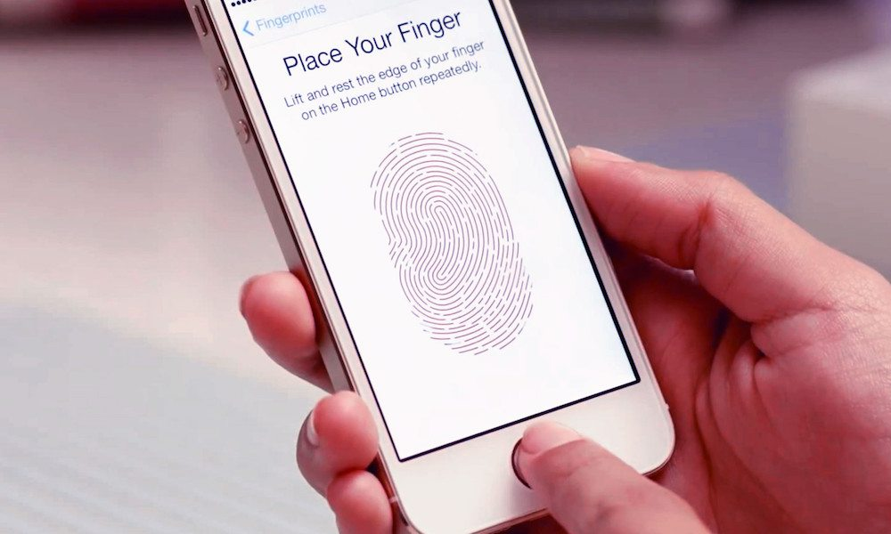 Fingerprint Touch Id Iphone