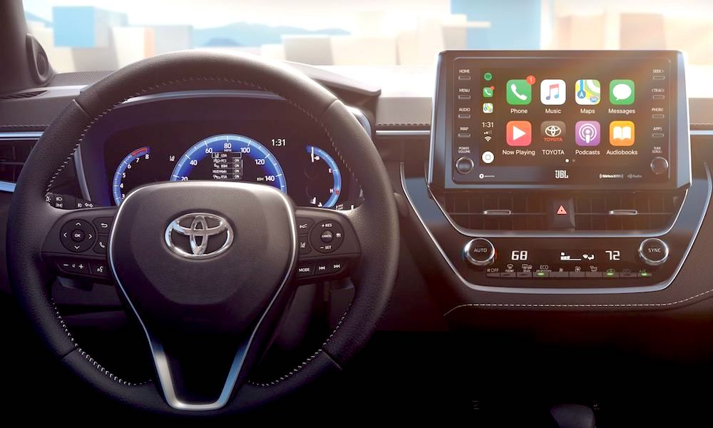 Apple Carplay Toyota
