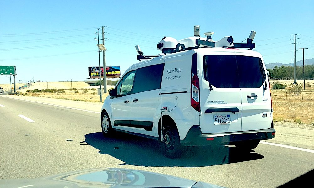 Apple Maps Ford Lidar Van Eli Waeterling Idrop News