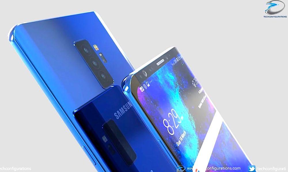 Samsung Galaxy S10 Concept