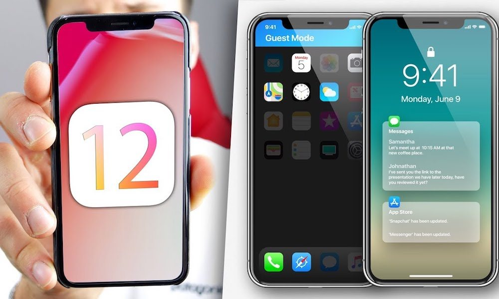 Ios 12 Concept Iphone