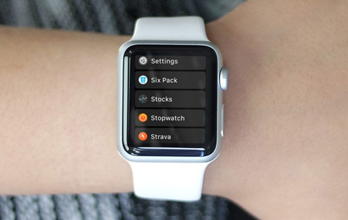 Switch To List View On Apple Watch