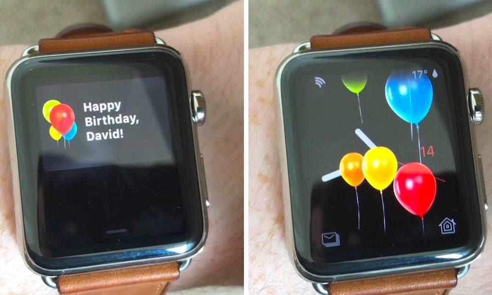 Apple Watch Birthday
