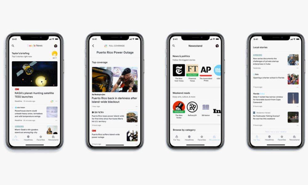 New Google News App Ios