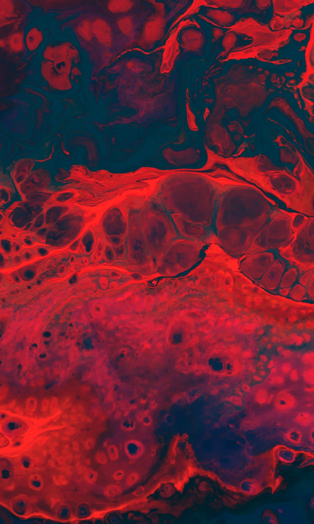 Blood Vein Texture iPhone Wallpaper