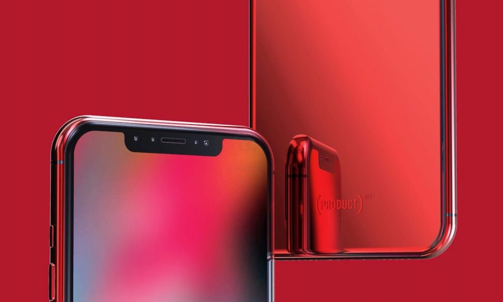 Iphone X Product Red Limited Edition Concept