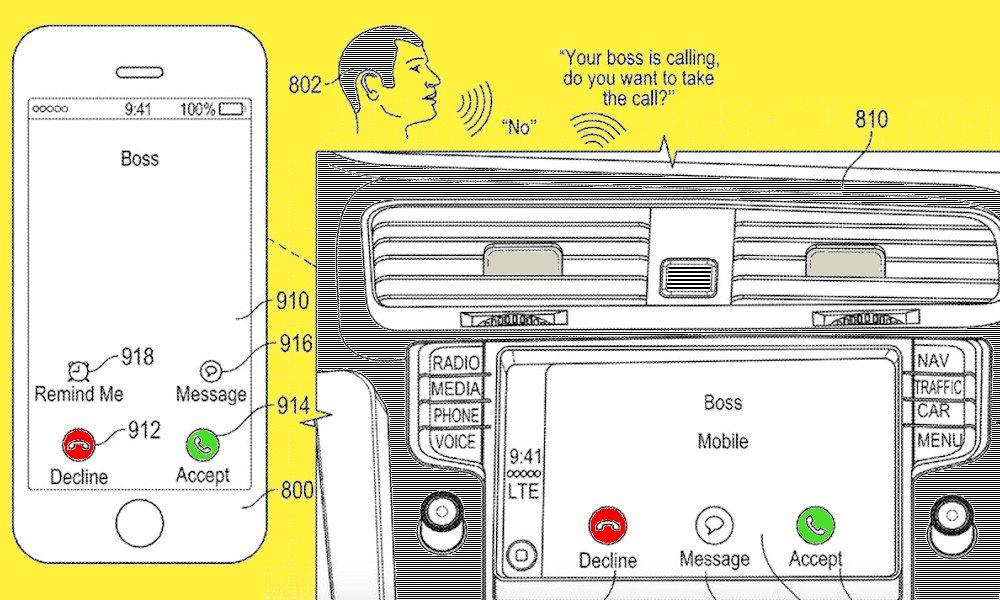 Siri Voice Patent