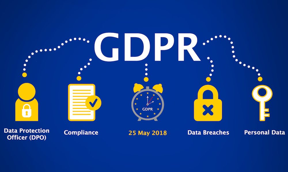 General Data Protection Regulation (gdpr) Concept Illustration 25 May 2018