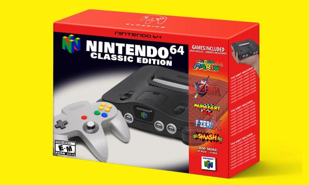 Nintendo 64 Mini Classic Edition