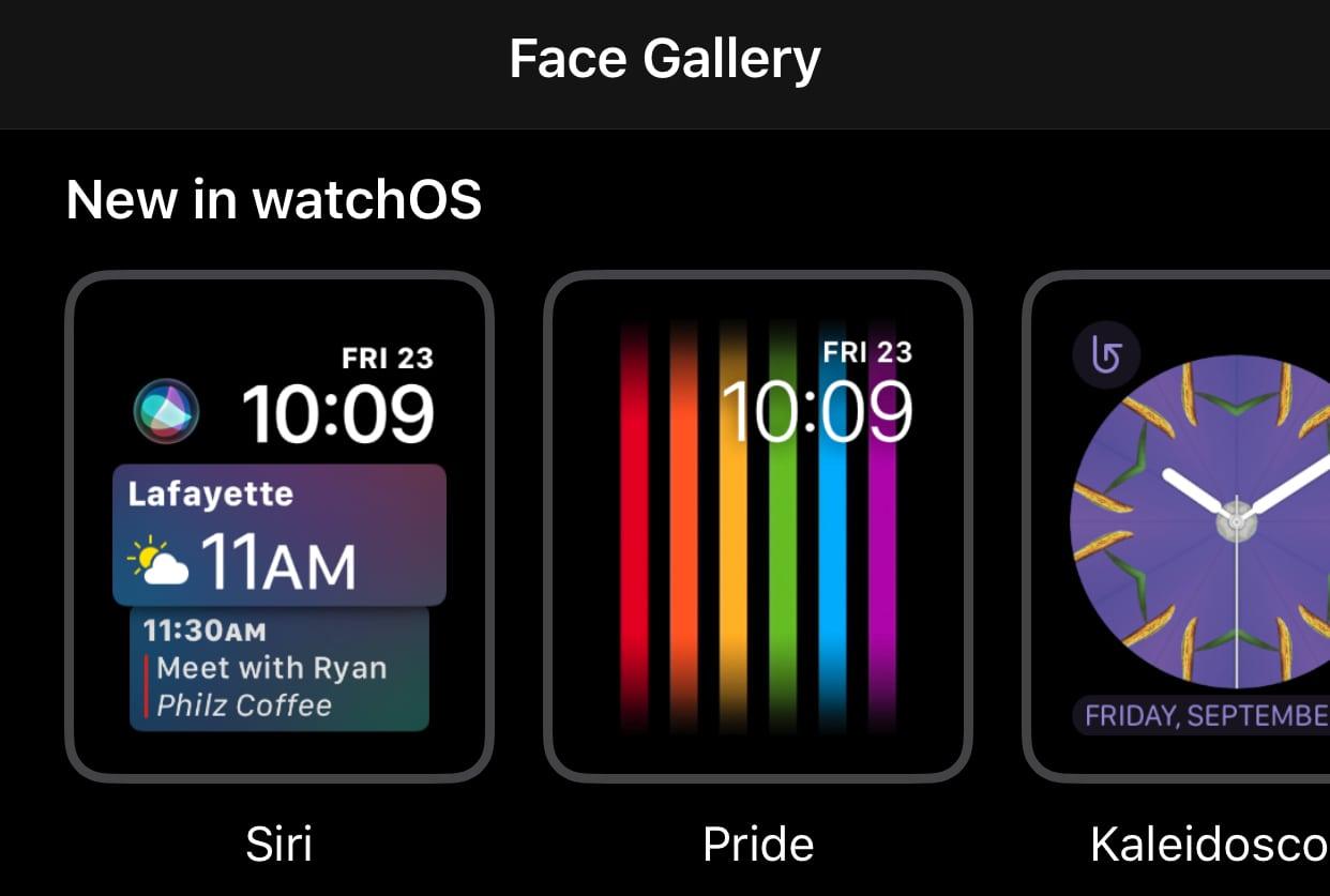 Pride Apple Watch Face