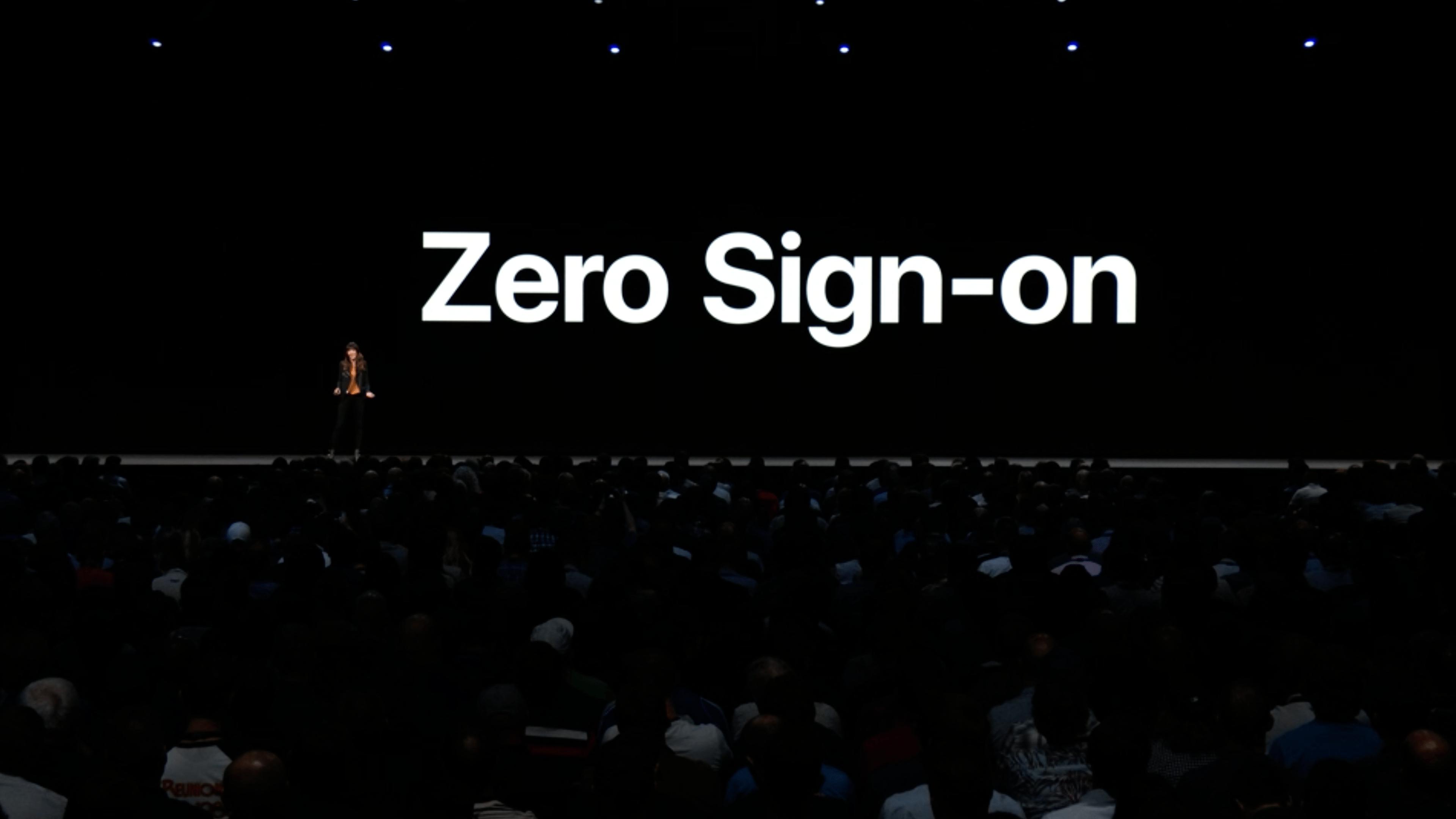 Zero Sign On