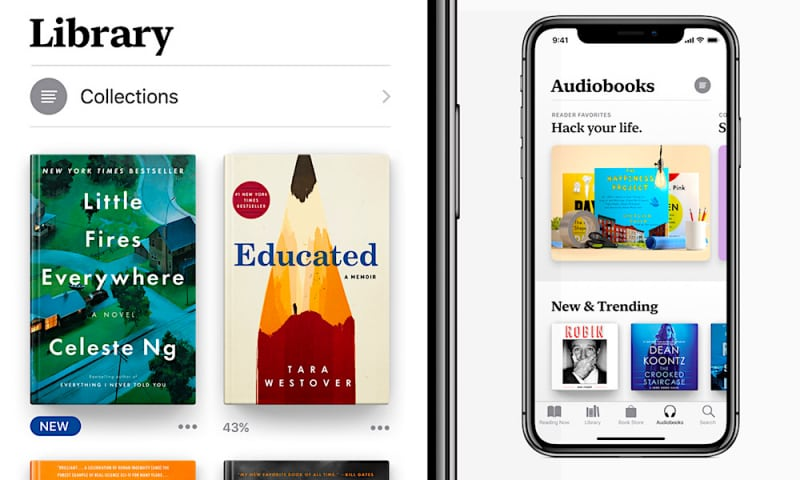 New Features And Changes In Ibooks Ios 12