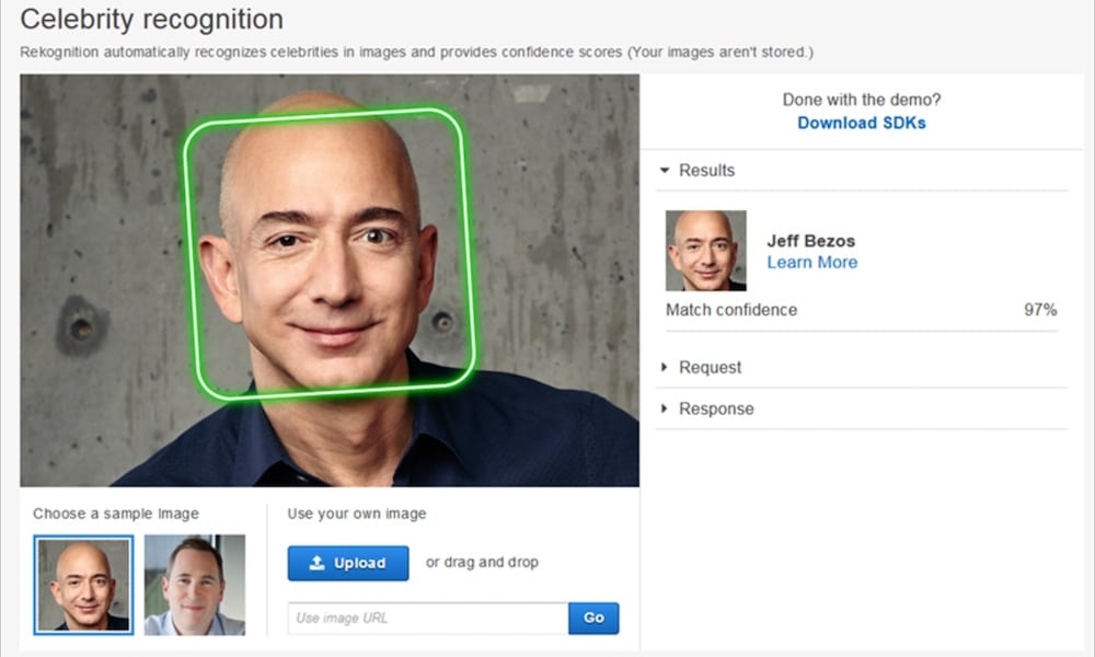 Amazon Image Recognition