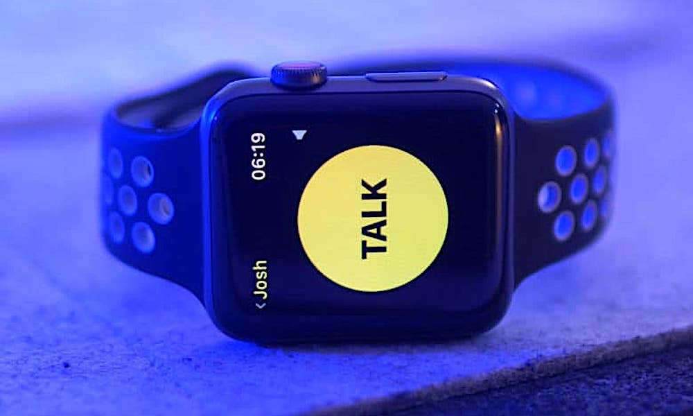 Apple Watch Walkie Talkie Watch Os 5