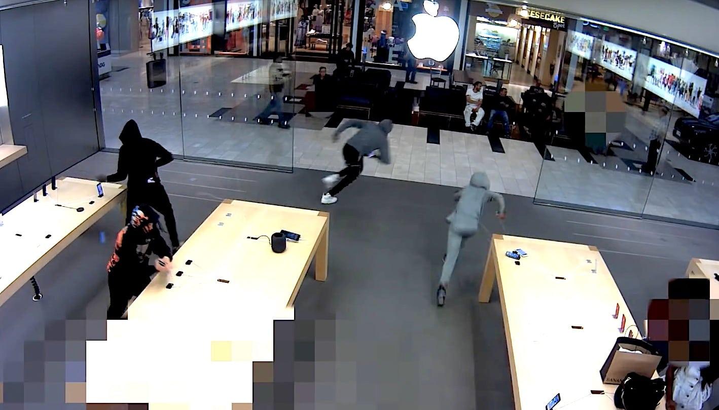 Các cửa hàng Apple Store liên tục bị cướp trong thời gian qua, đây có thể là lí do vì sao