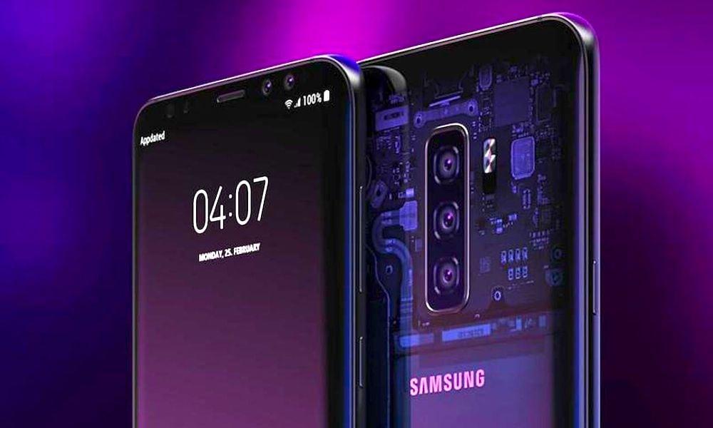 Samsung Galaxy S10 Concept Image